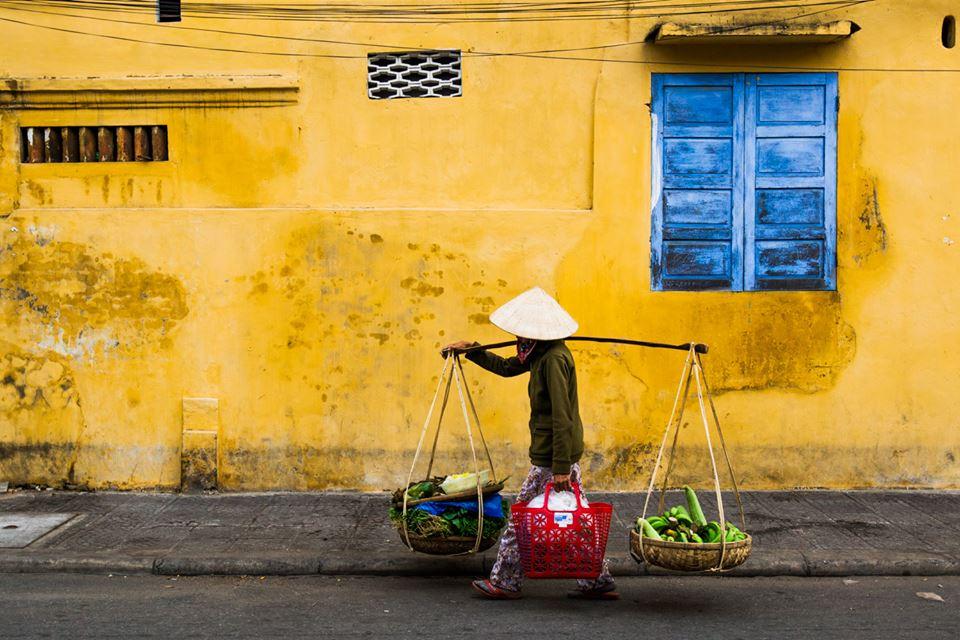Žluté zdi Hoi An