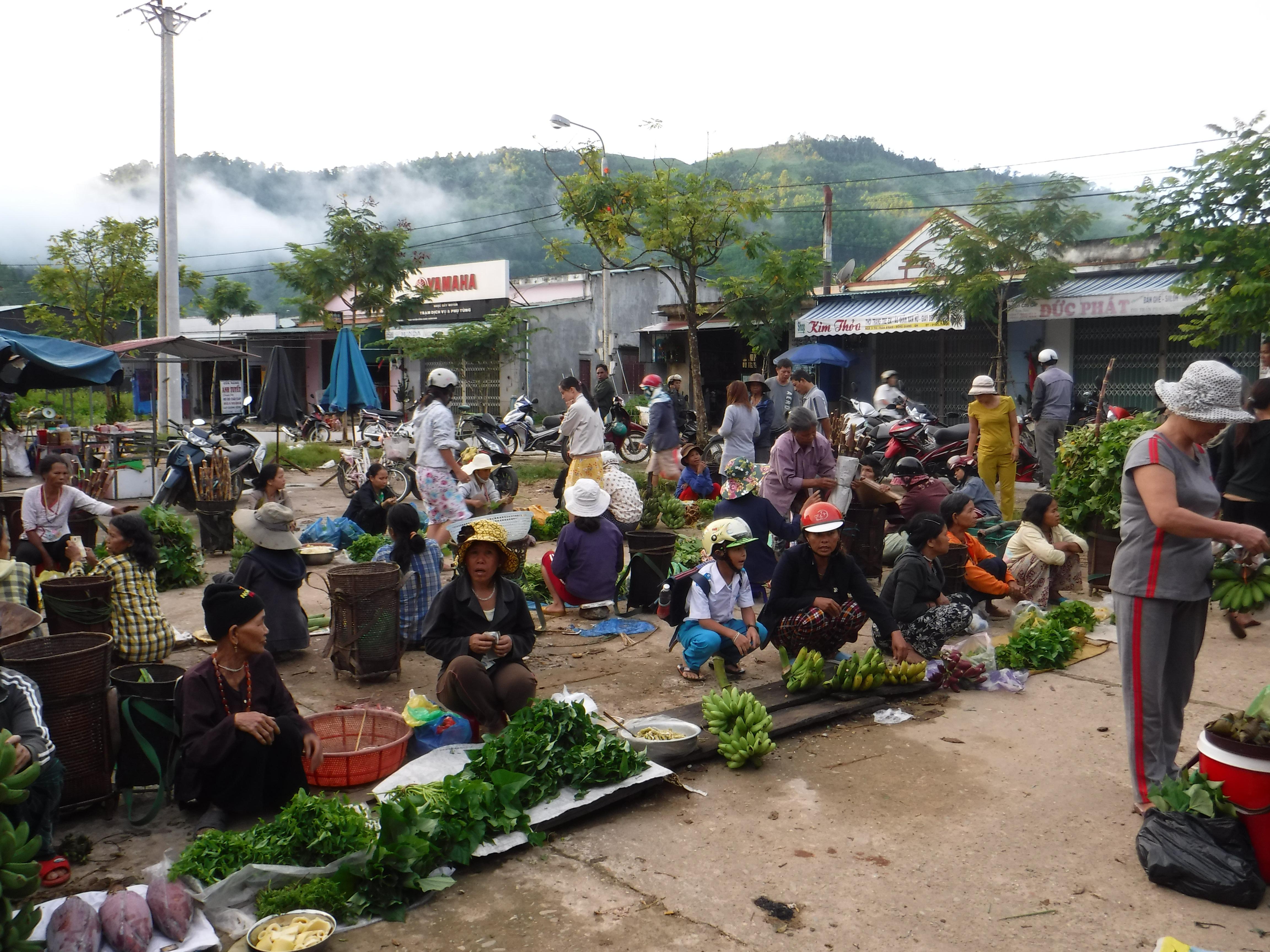 Trh v horách
