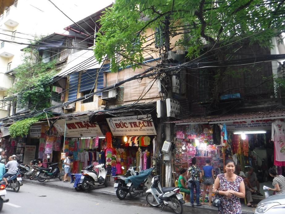 Staré město v Hanoji