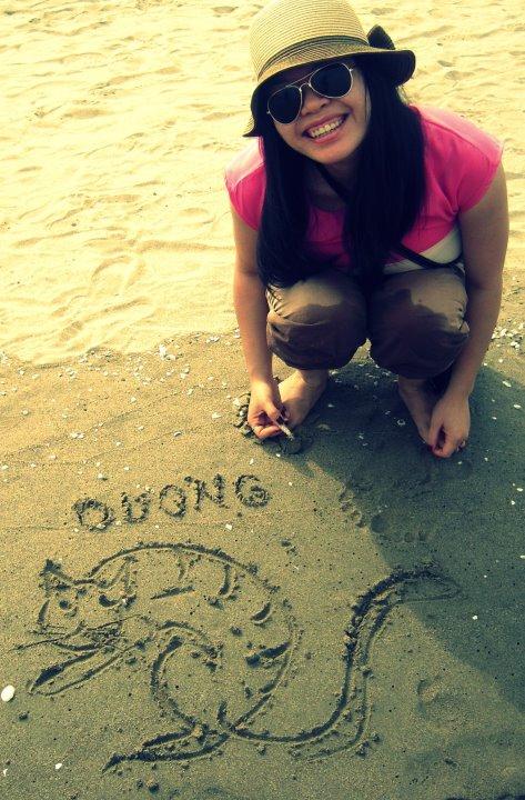 Já u našeho moře s obrázkem od strejdy Thinh