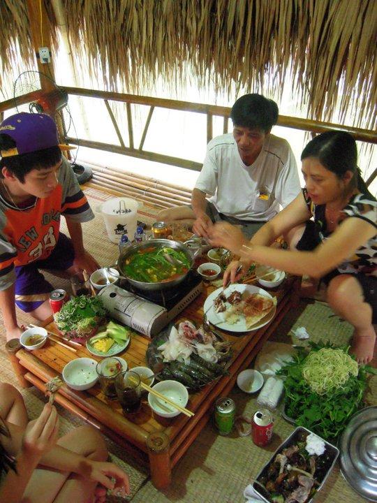 Čerstvé mořské plody přímo z rybářské vesničce