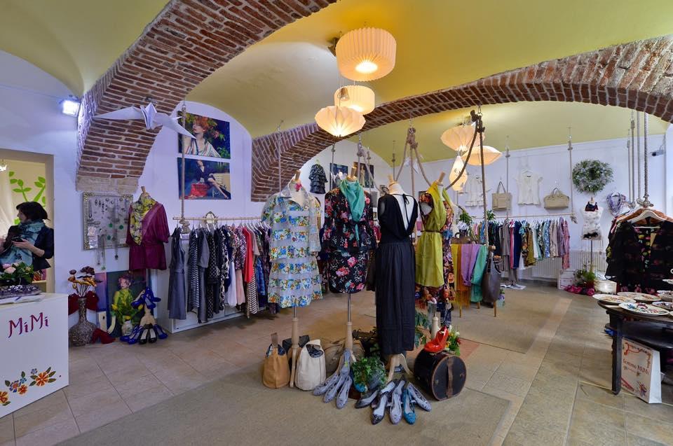 Butik ve Štěpánské propojuje staré s novým ve jménu recyklace. Zdroj: La Femme Mimi Facebook