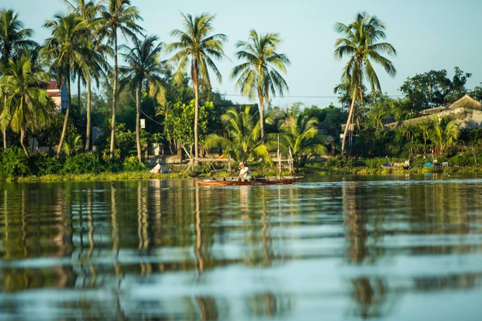 Palmová řeka v Hoi An