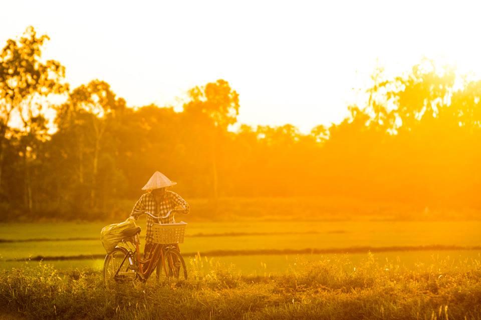 Západ slunce v Hoi An